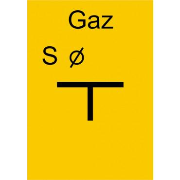 Znak - Tablica zawieradła cieczowego JC004