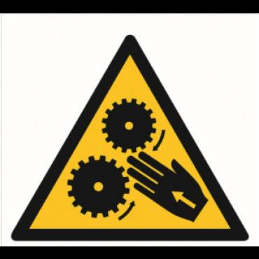 Znak - Uwaga, wirujące elementy GE013