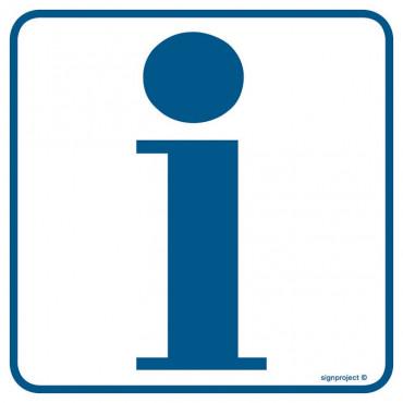 Znak - Informacja 1 RA011