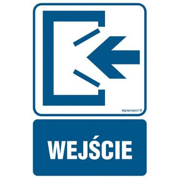 Znak - Wejście RB009