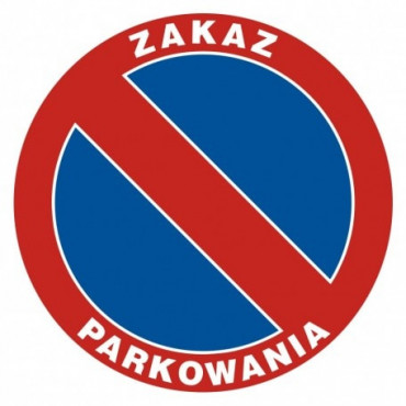 Znak zakazu parkowania