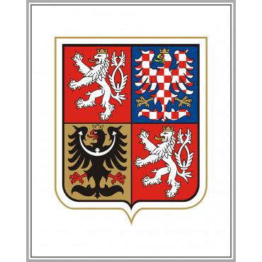 Godło Czechy UA004