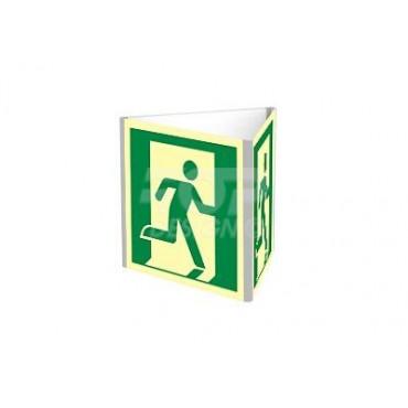 Znak - Wyjście ewakuacyjne prawostronne (D-SIGN dościenny) AE802